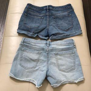 Mossimo Supply Co. Shorts - 2 Mossimo Women's denim shorts size 0 & 3